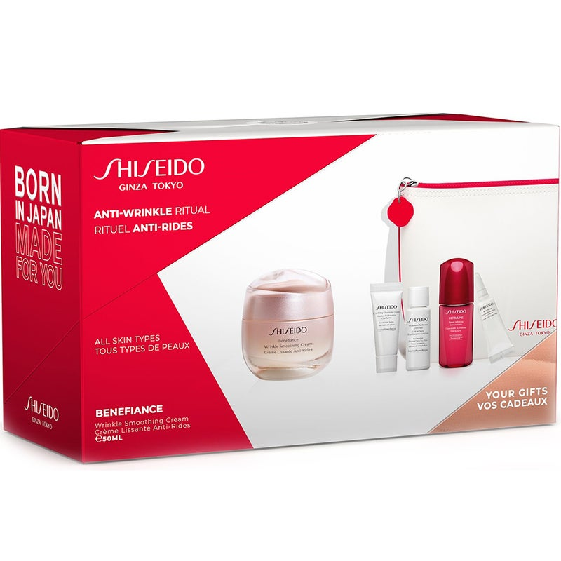 Shiseido Benefiance Neura Smooting Cream Pouch Set