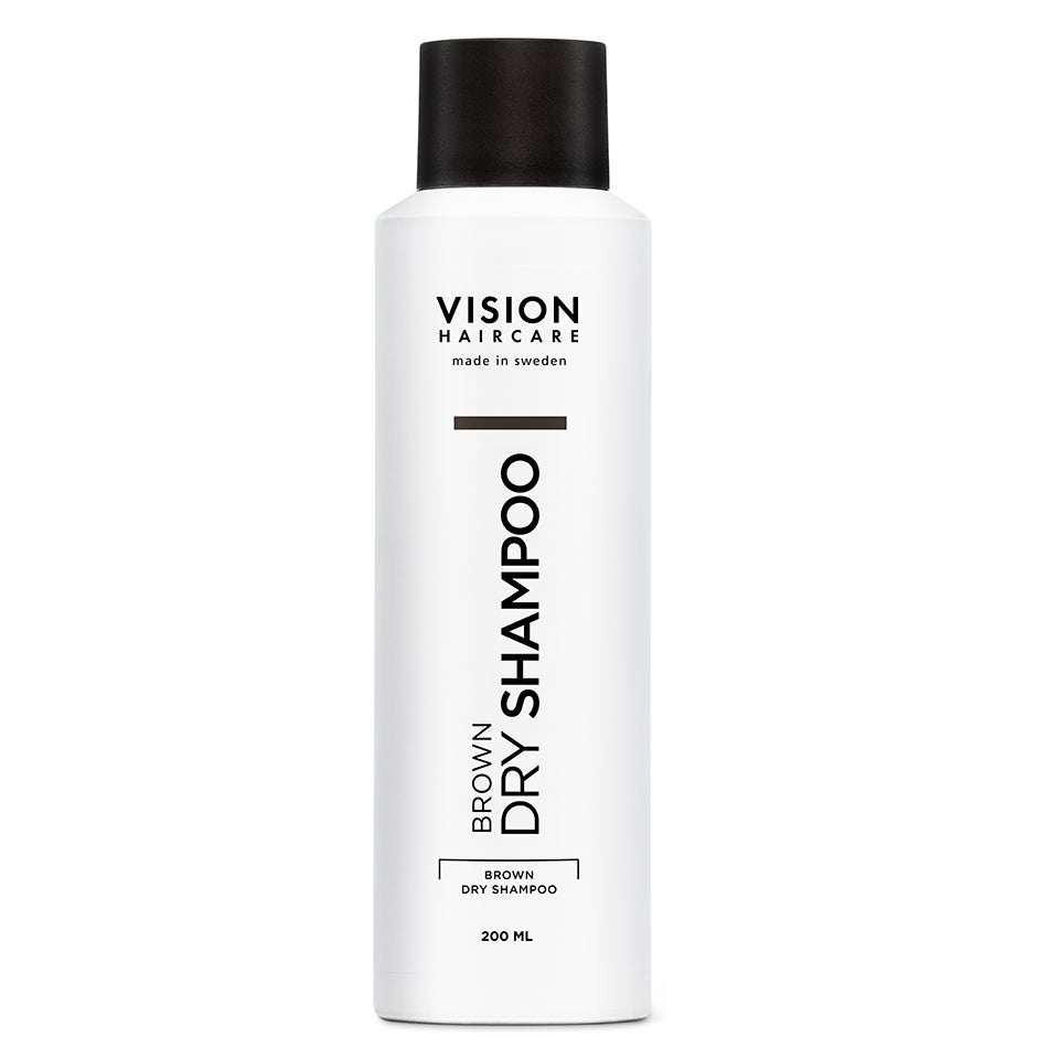 Vision Brown Dry Shampoo, 200ml Vision Haircare Torrschampo