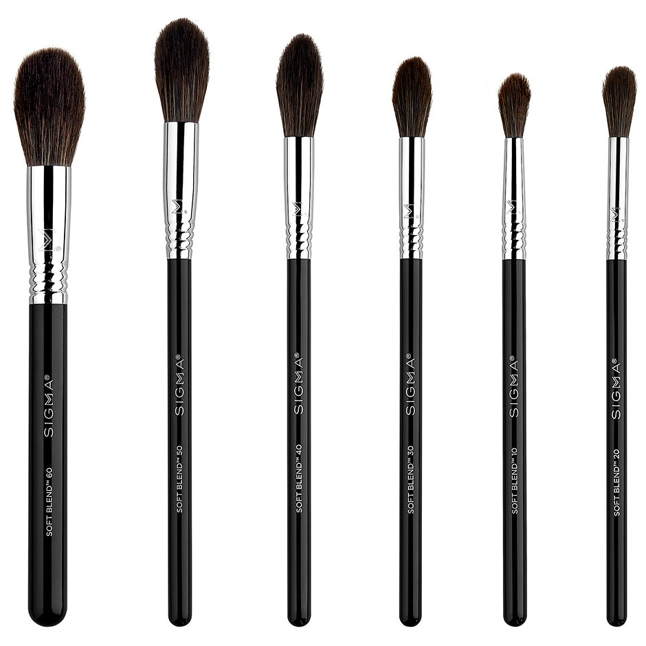 Soft Blend Brush Set,  Sigma Beauty Borstar & Penslar