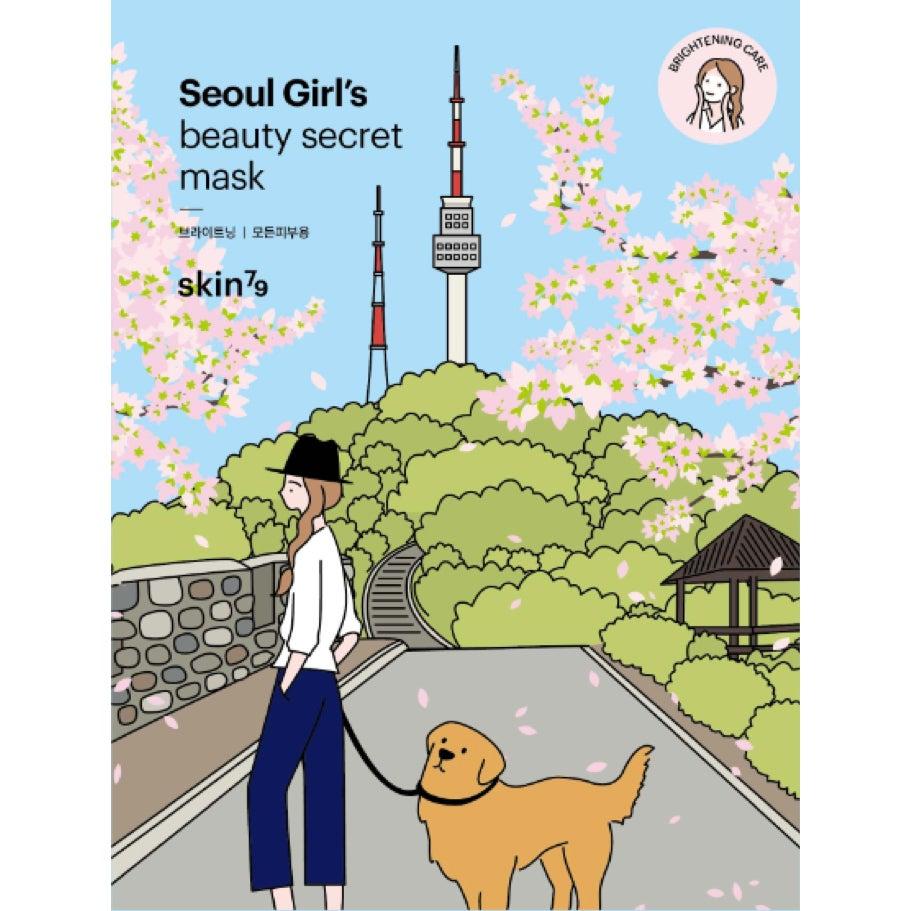 Köp Seoul Girls Beauty Secret Brightening Mask,  Skin79 Ansiktsmask fraktfritt