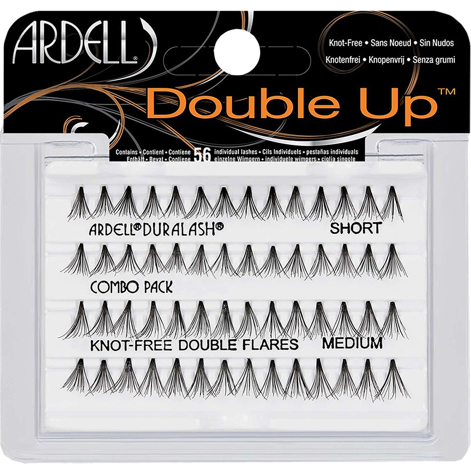 Ardell Double Up Individuals Knot-Free Combo, Ardell Lösögonfransar