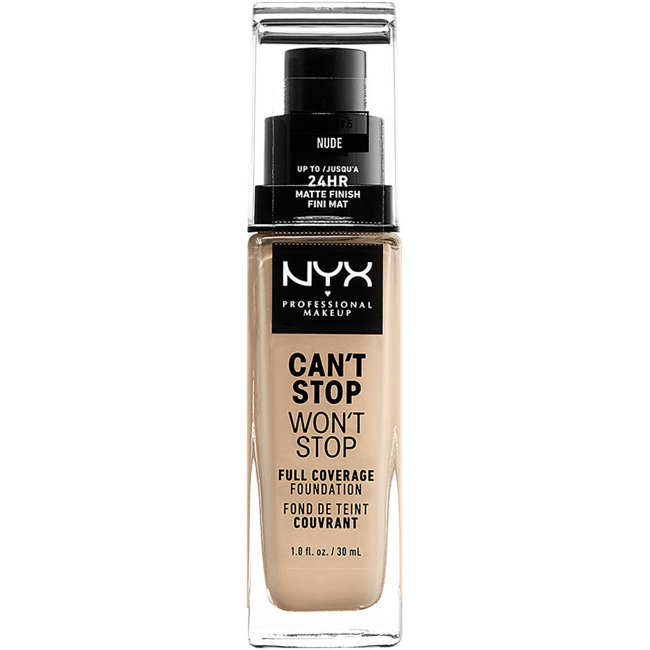 Can't Stop Won't Stop Foundation, NYX Professional Makeup Foundation