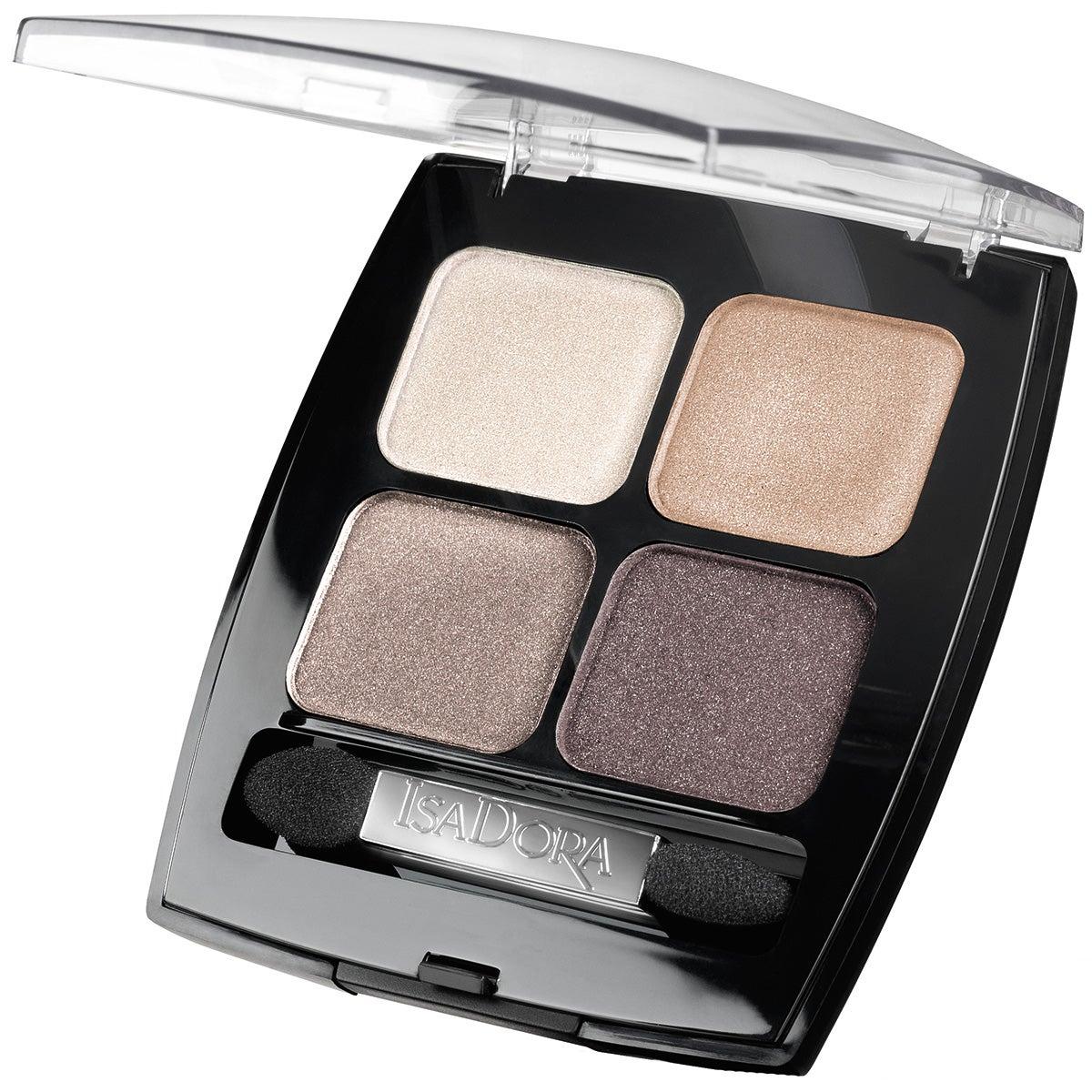 IsaDora Eyeshadow Quartet, 35 Pearls 6,2 g IsaDora Ögonskugga