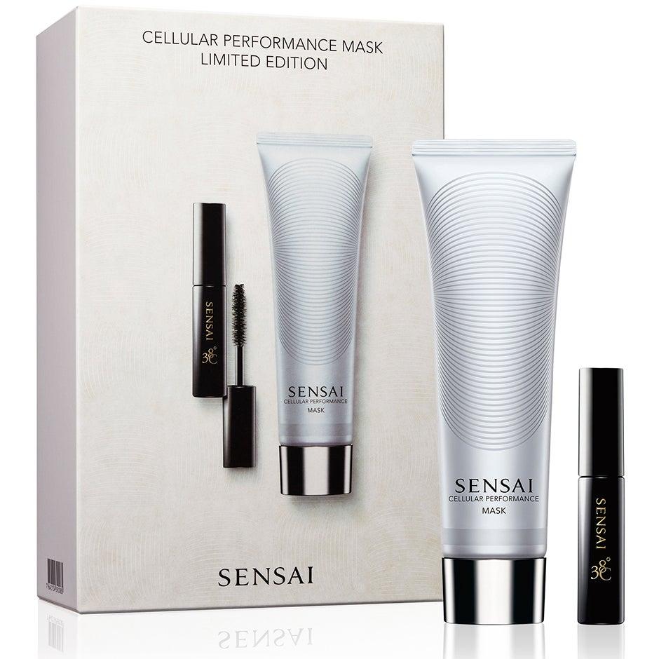 Cellular Performance Mask Limited Set, 103 ml Sensai Ansikte