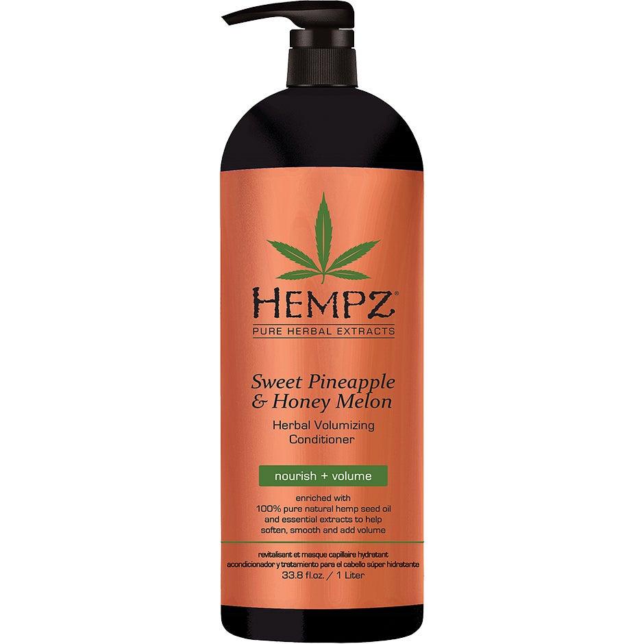 Sweet Pineapple & Honey Melon Volumizing Conditioner, 1000 ml HEMPZ Conditioner - Balsam