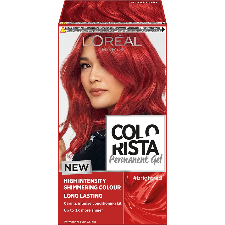 Colorista Permanent Gel, Bright red L'Oréal Paris Färg