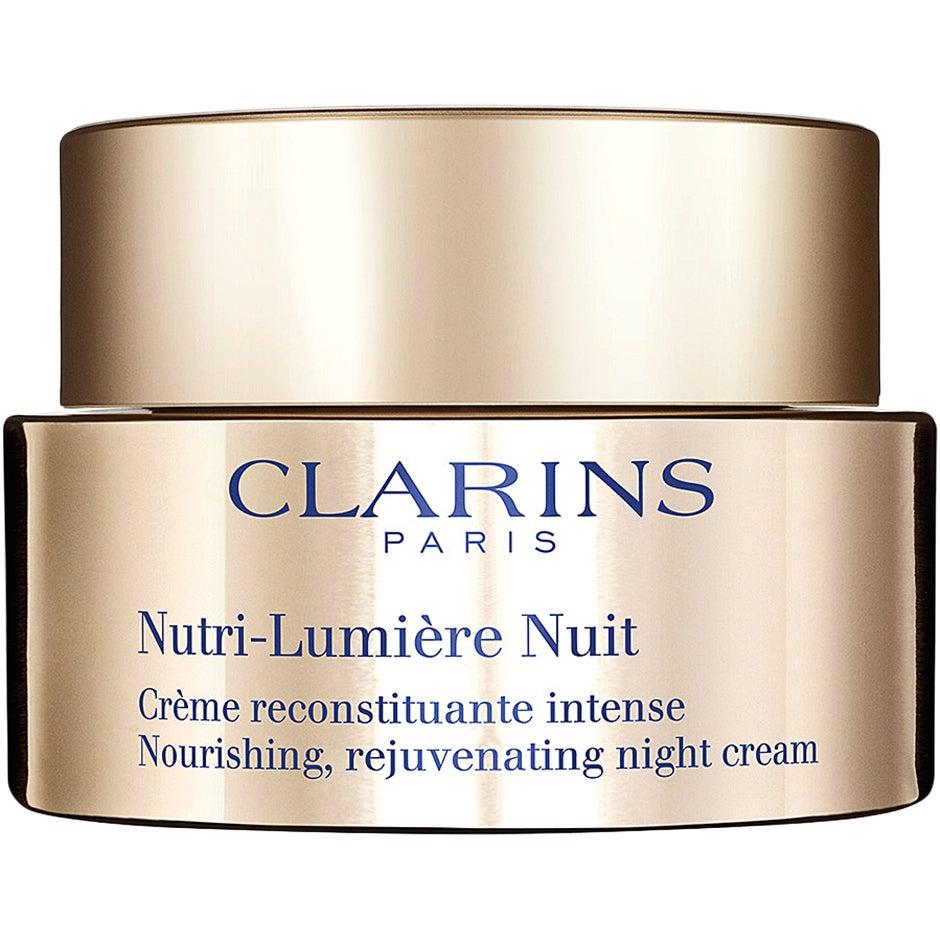 Nutri-Lumiere Nuit Nourishing Rejuvenating Night Cream, 50 ml Clarins Nattkräm