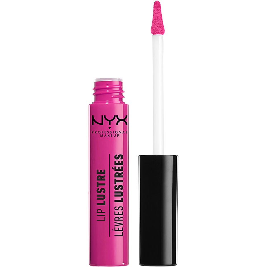 Lip Lustre Glossy Tint, RETRO SOCIALITE 8 ml NYX Professional Makeup Läppglans