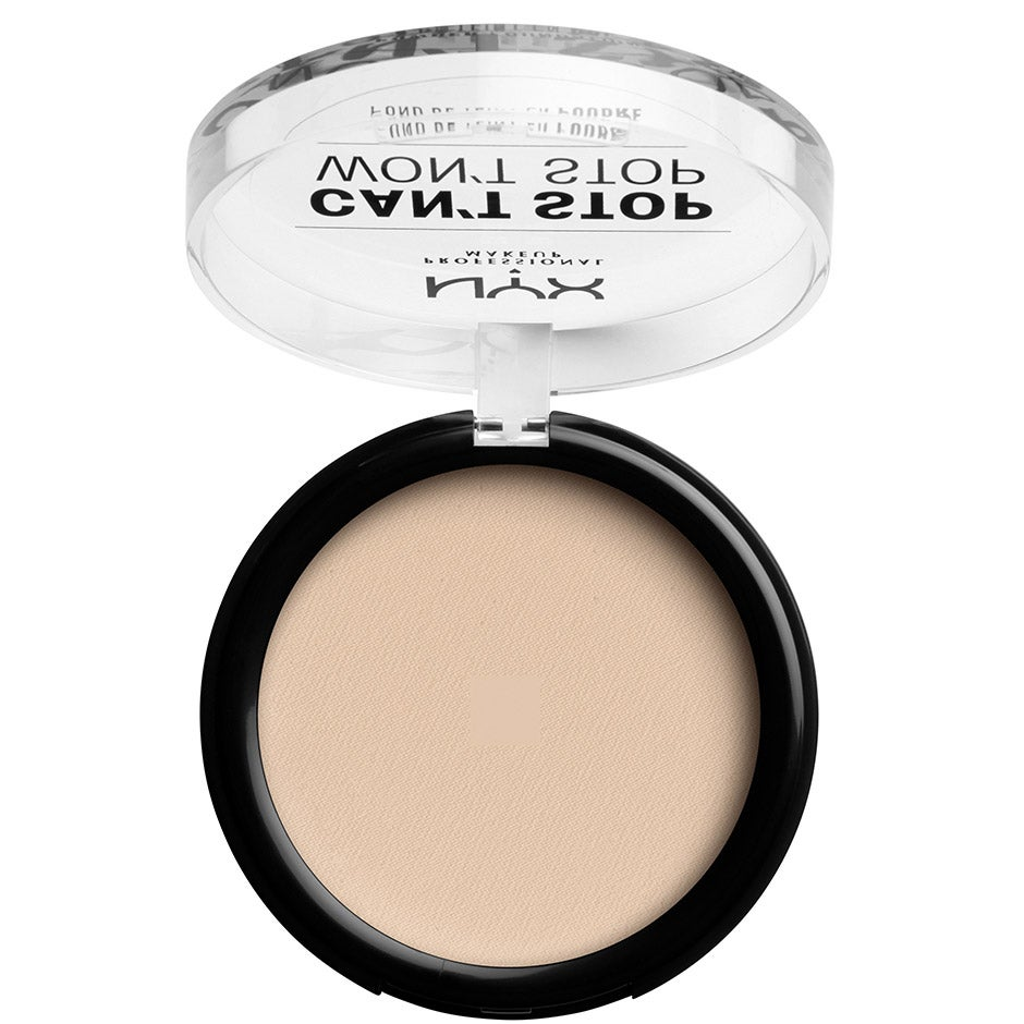 Can't Stop Won't Stop Powder Foundation,  NYX Professional Makeup Foundation