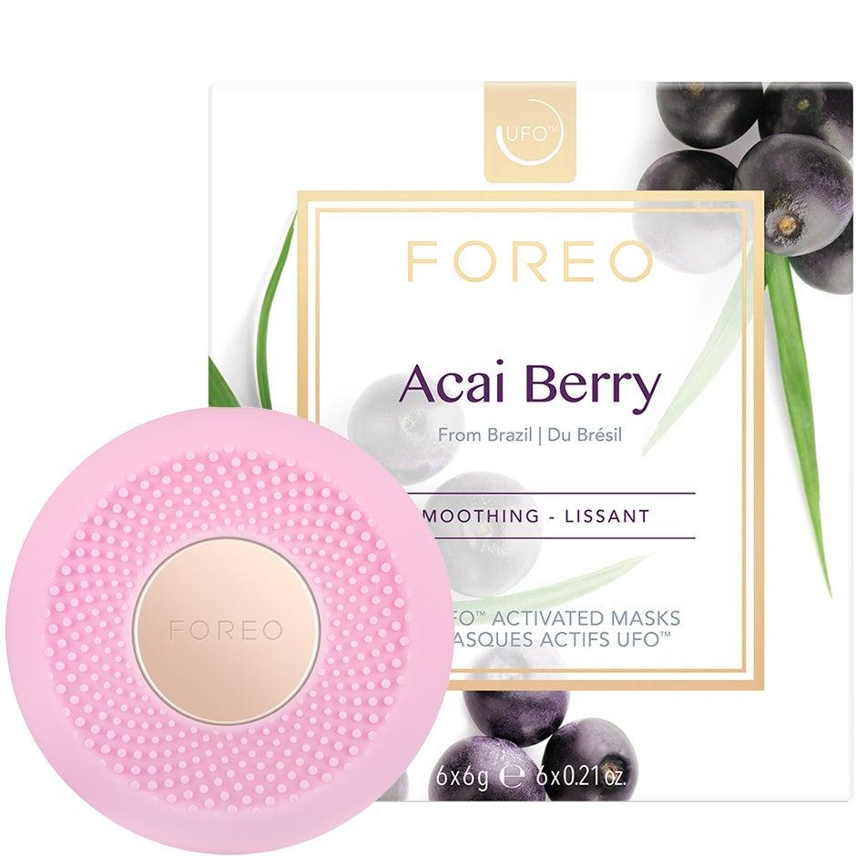 UFO Mini Pearl Pink & Acai Berry Mask,  Foreo Hudvård