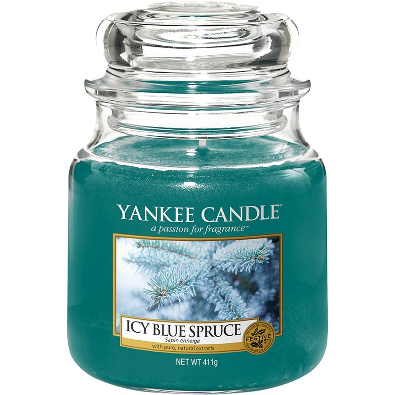 Yankee Candle Icy Blue Spruce