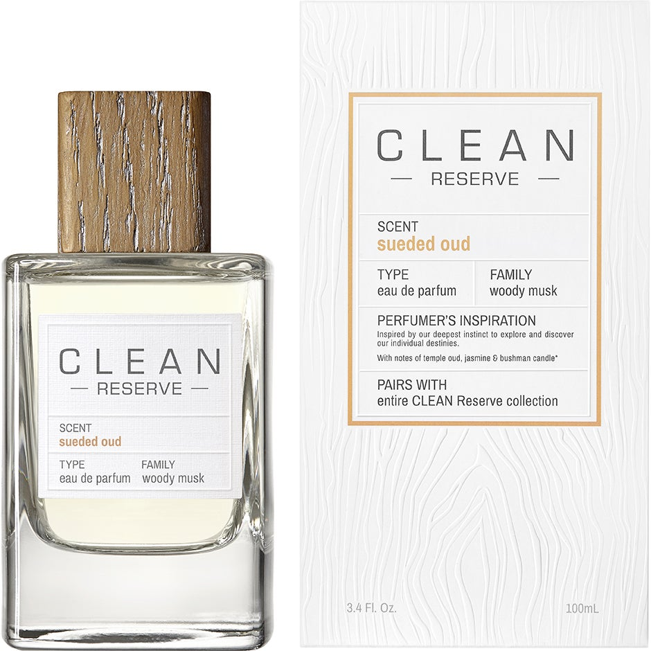 Sueded Oud EdP 100ml Clean Parfym thumbnail