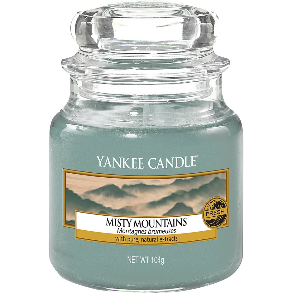 Köp Misty Mountains, Small Jar 104 g Yankee Candle Doftljus fraktfritt thumbnail