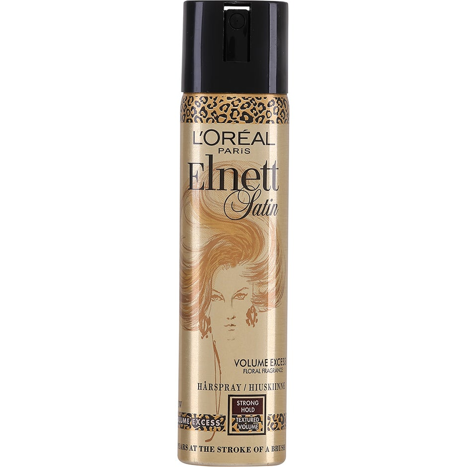 L'Oréal Paris Elnett Satin Volume Excess Hair Spray, Volume Excess 75 ml L'Oréal Paris Hårspray