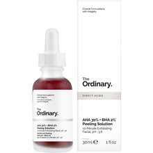 The Ordinary AHA 30% + BHA 2% Peeling Solution - Blodmask