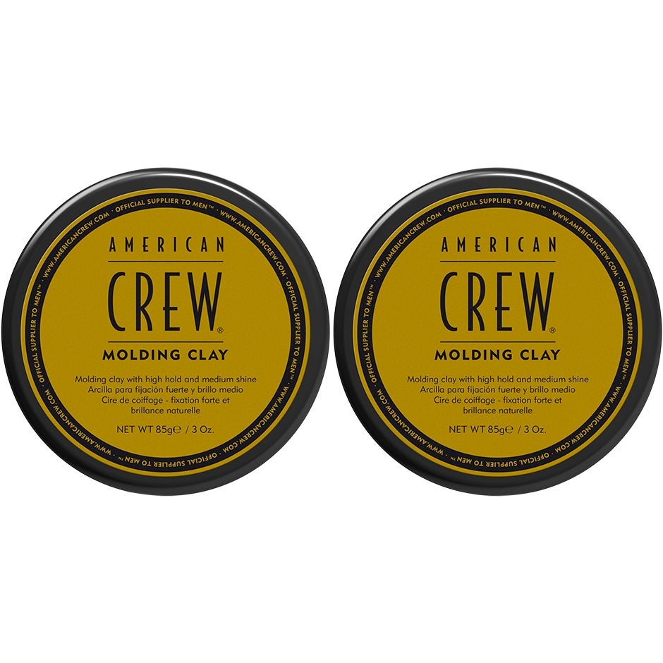 American Crew - Molding Clay Duo Molding Clay 85g x 2
