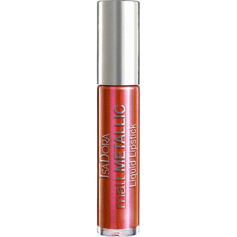 IsaDora Matt Metallic Liquid Lipstick, Coral Rush 7 ml IsaDora Läppstift