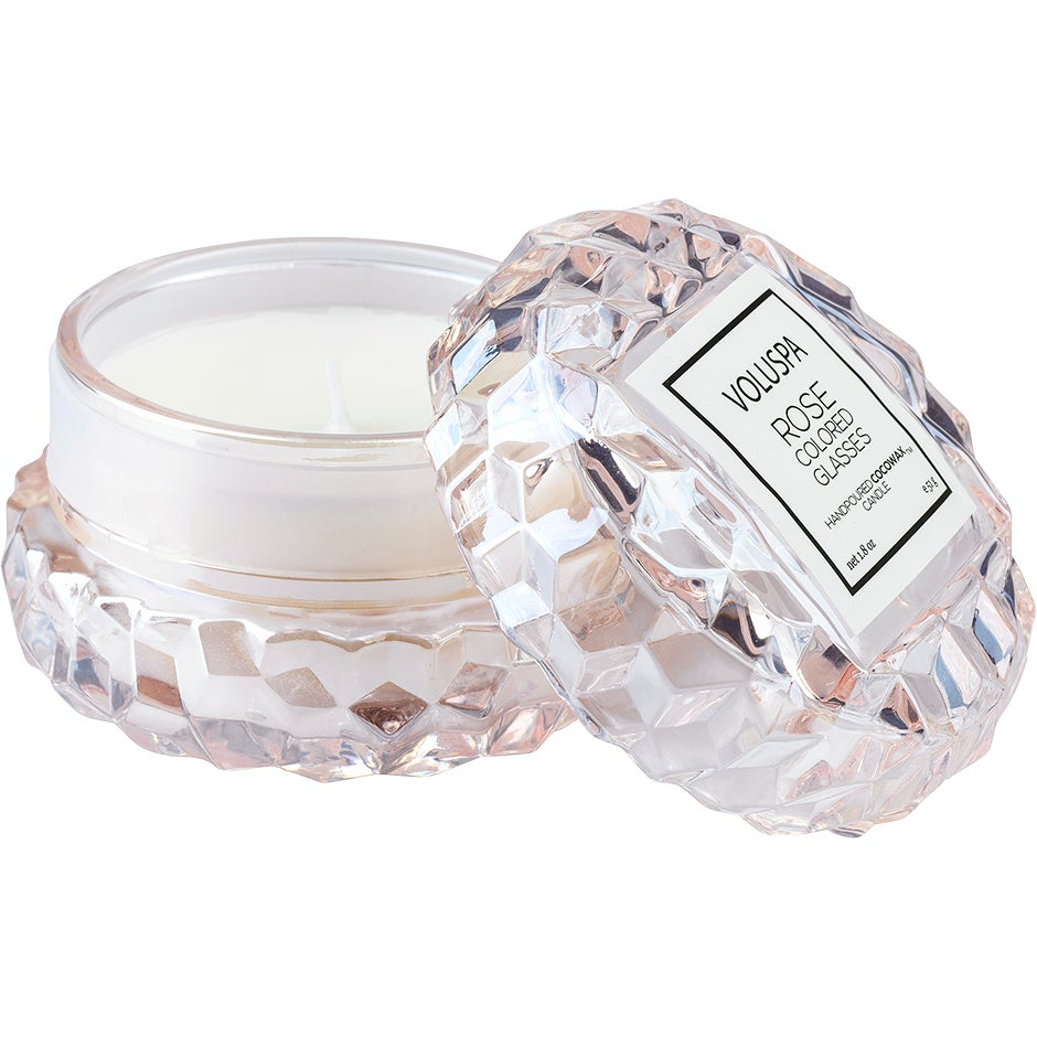 Voluspa Roses Macaron Candle Rose Colored Glasses 51g