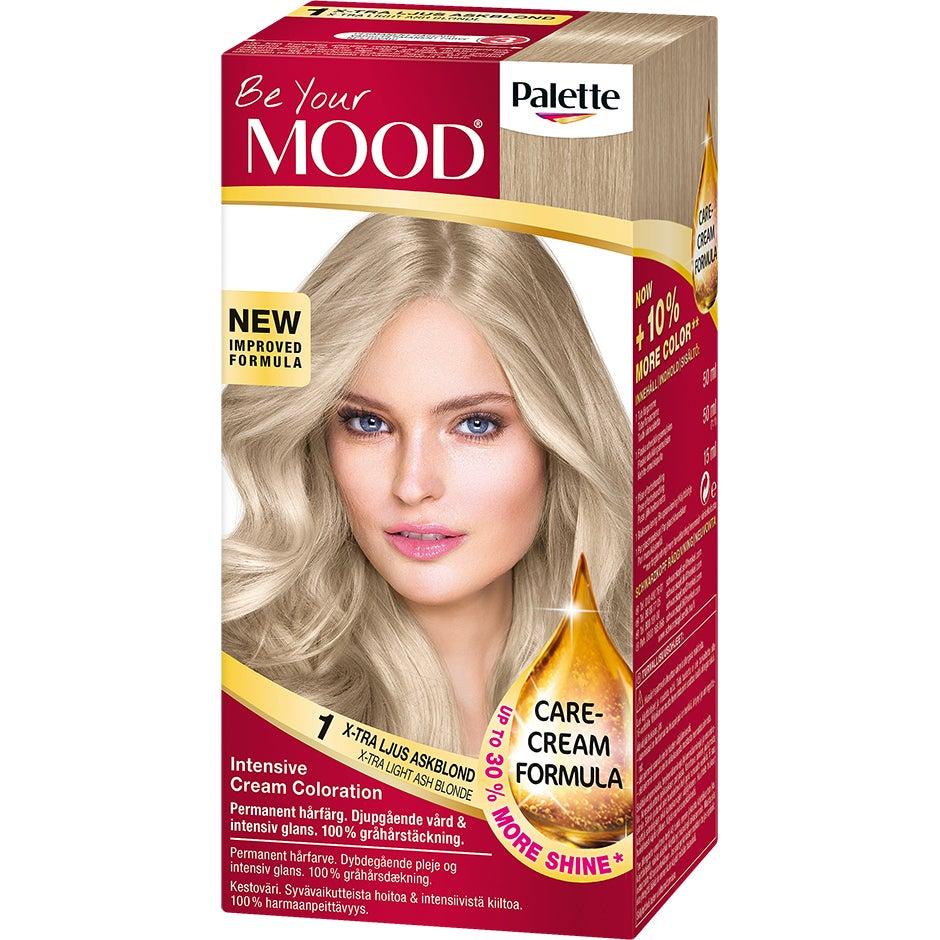 Köp Hair Colour, No. 1 Extra Light Blonde MOOD Färg fraktfritt