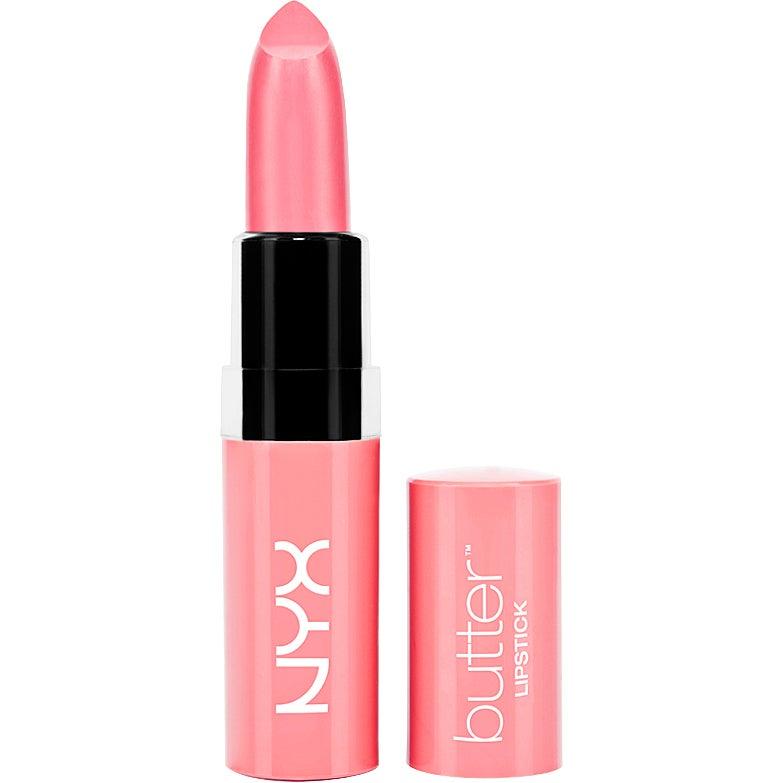 Köp Butter Lipstick,  4,5g NYX Professional Makeup Läppstift fraktfritt