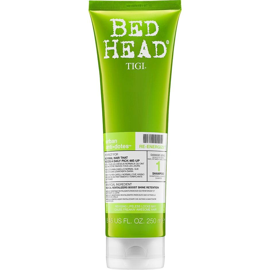 TIGI Bed Head Urban Antidotes RE-ENERGIZE Shampoo, 250ml TIGI Bed Head Shampoo