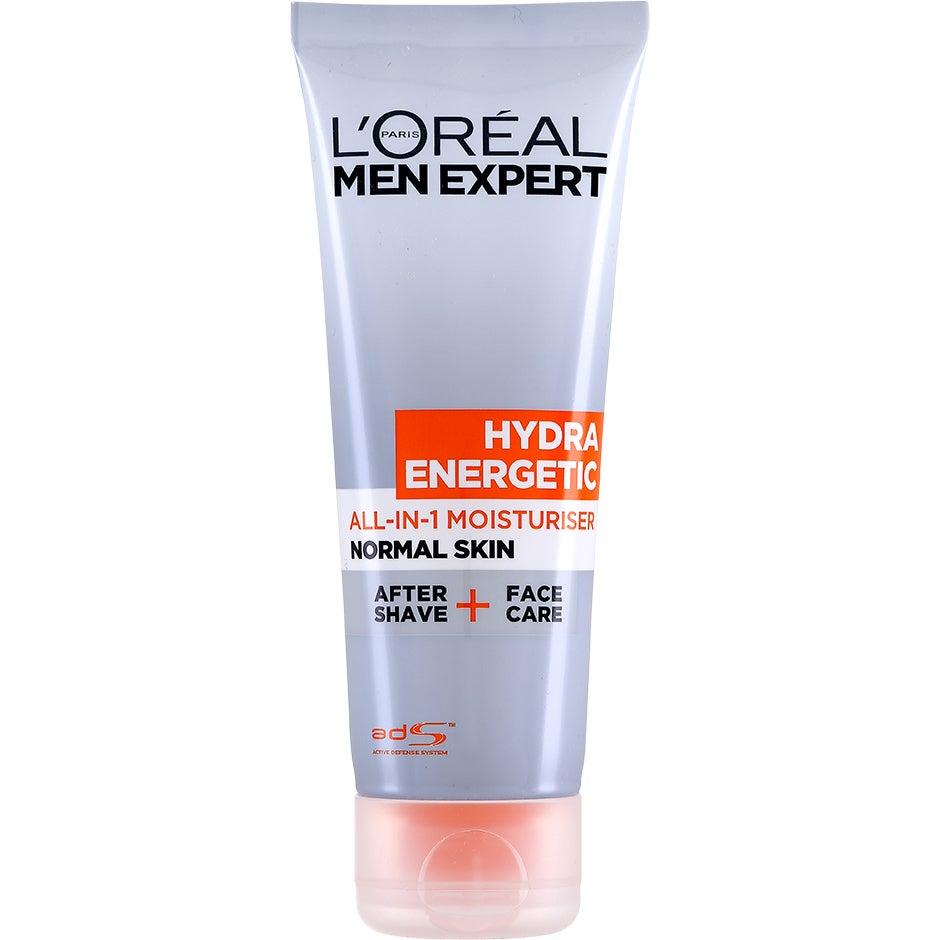 Köp L'Oréal Paris Men Expert Hydra Energetic All-In-1 Moisturiser, All In 1 Moisturiser 75 ml L'Oréal Paris Dagkräm fraktfritt