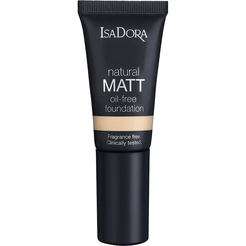 IsaDora Natural Matt Foundation Travel Size