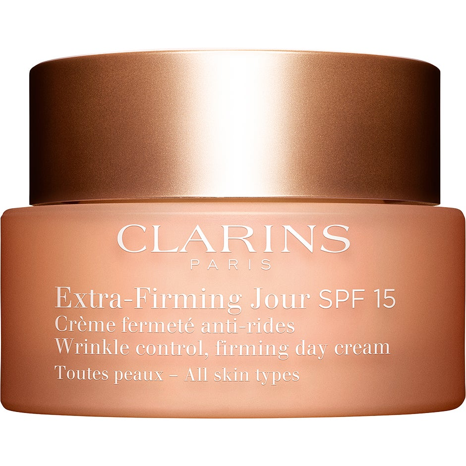Clarins Extra-Firming Jour SPF15 for All Skin Types, 50 ml Clarins Dagkräm