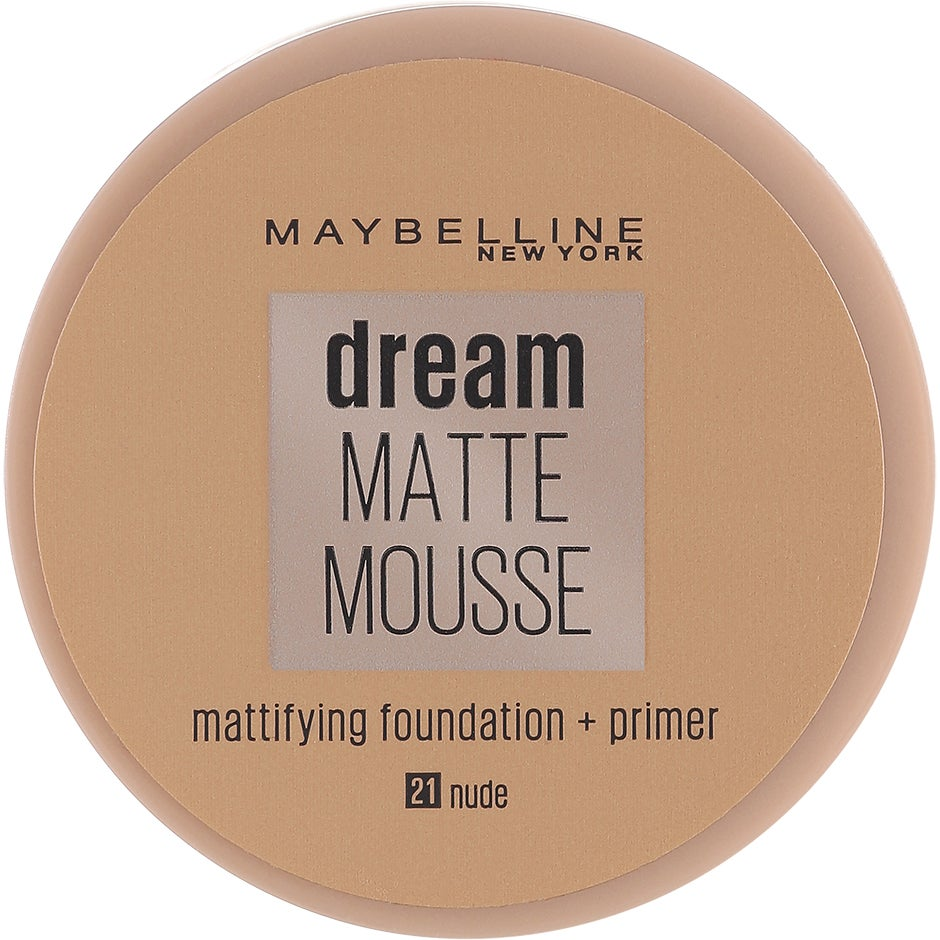 Dream Matte Mousse Foundation, Maybelline Foundation