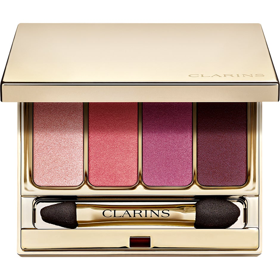 Clarins 4-Colour Eye Shadow, 07 Lovely Rose 7 g Clarins Ögonskugga