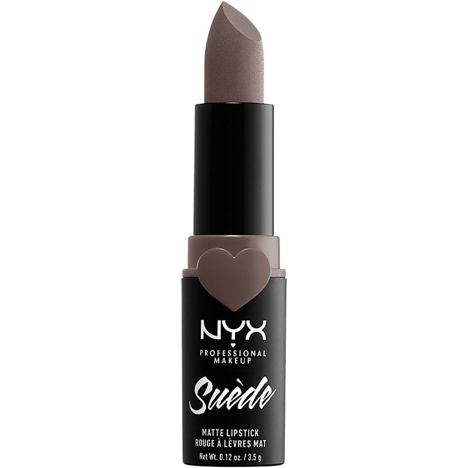 Suede Matte Lipstick, Munchies 3,5 g NYX Professional Makeup Läppstift
