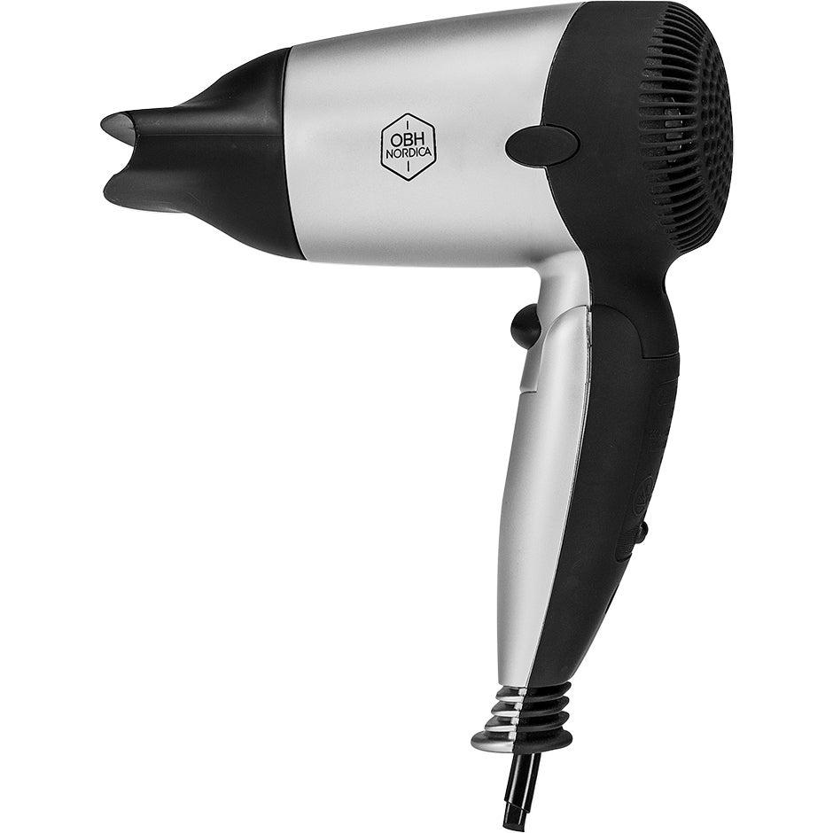 Köp Hair Dryer, Looks Sport & Travel 1250W OBH Nordica Hårfön fraktfritt