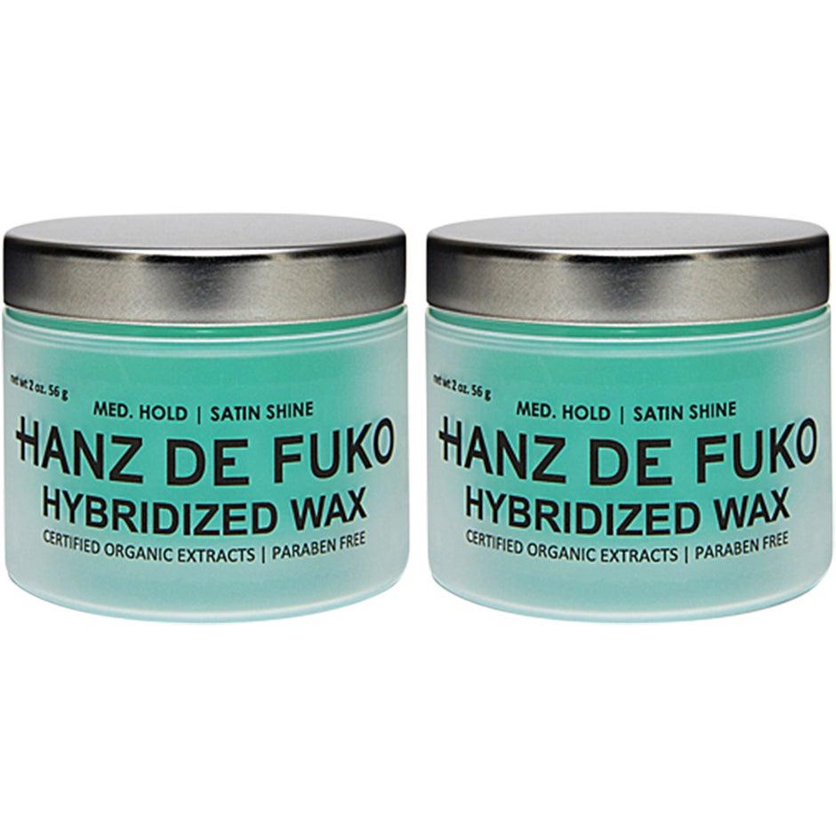 Hybirdized Wax Duo,  Hanz de Fuko Hårvård