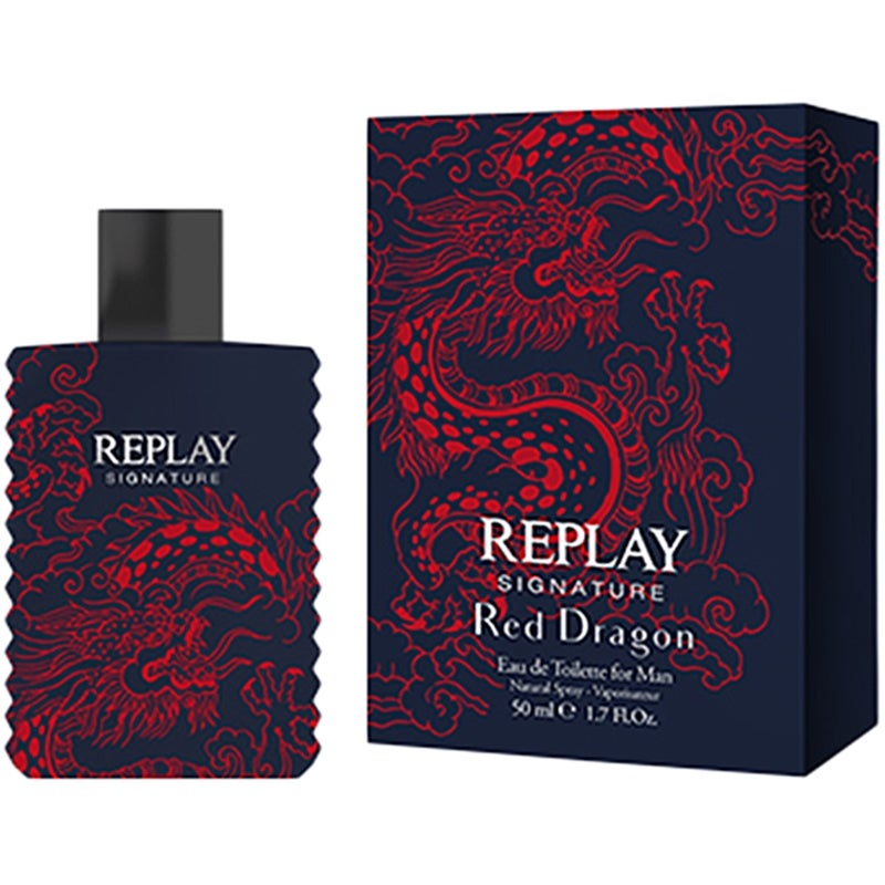 Replay Signature Red Dragon for Him