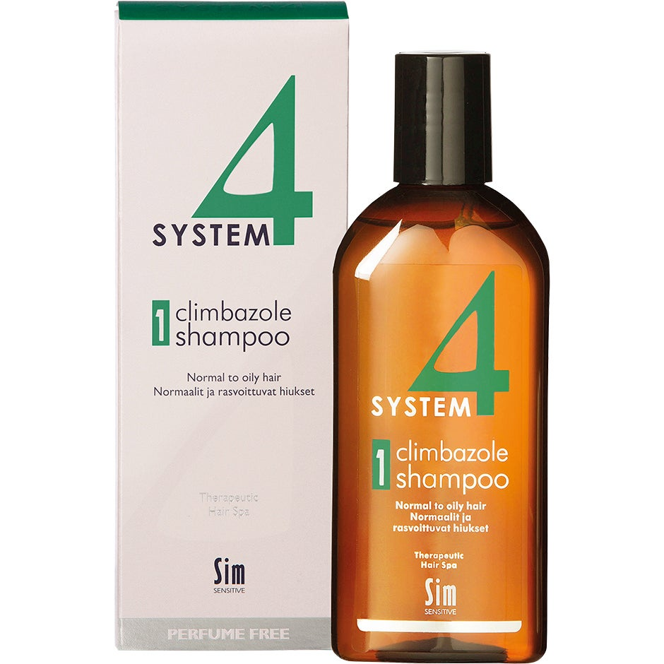 Köp SIM Sensitive System 4 Climbazole Shampoo 1, Climbazole Shampoo 1 Normal to Oily Hair 215 ml SIM Sensitive Shampoo fraktfritt