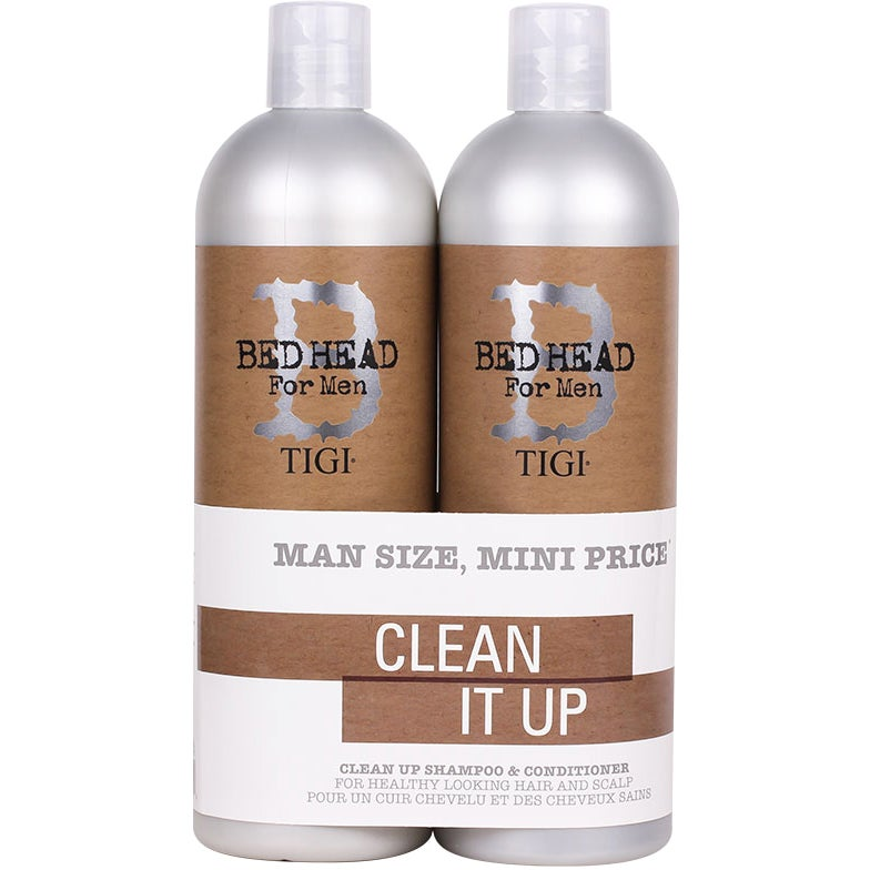TIGI Bed Head B for Men Clean Up Tweens Duo