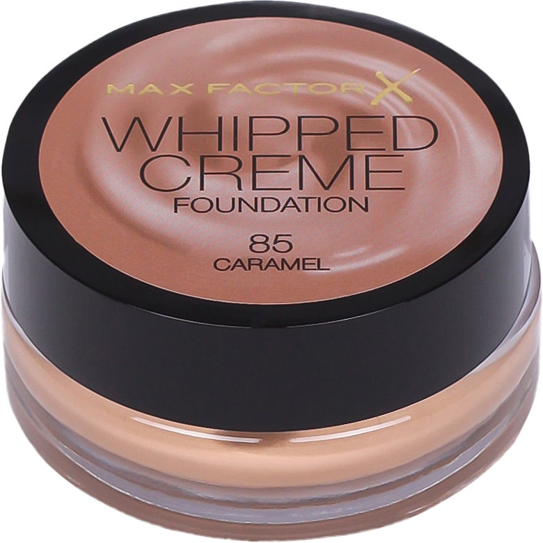 Max Factor Whipped Creme Foundation 85 Caramel 18ml a30a3e28595cb
