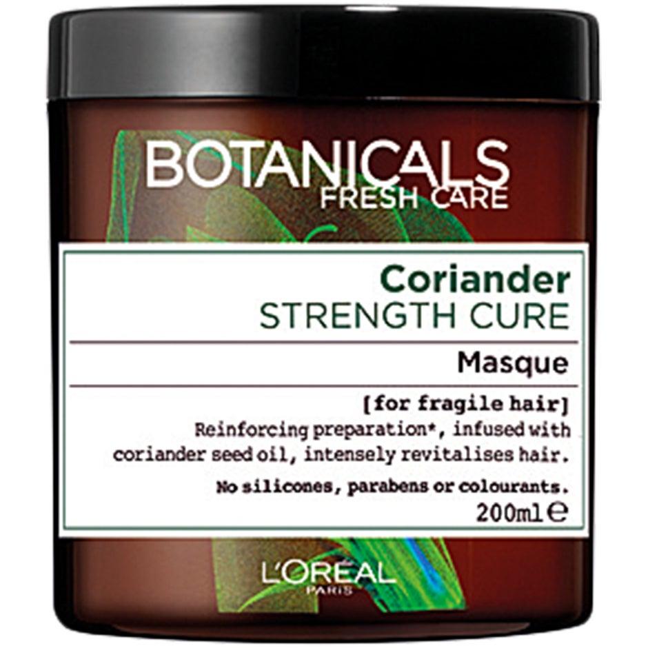 Köp Botanicals, Coriander Strength Cure Mask 200 ml L'Oréal Paris Hårinpackning fraktfritt