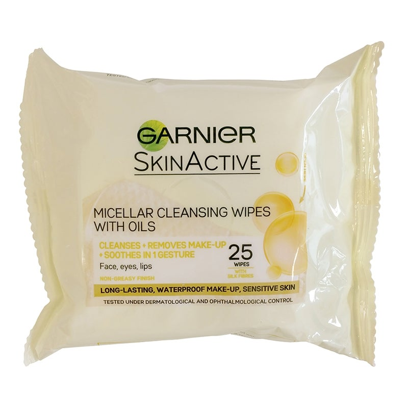 Garnier Micellar Cleansing Wipes With Oils