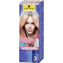 Schwarzkopf Blonde Pastel Spray Cotton Candy 125 ml 094000c6108e2