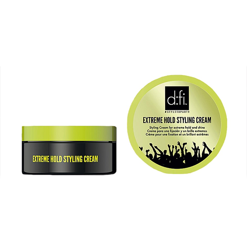 Extreme Hold Styling Cream x 2, 75g d:fi