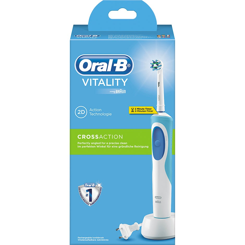 Bild på Vitality CrossAction Oral-B Tandborstar e97dd2e3d19b5