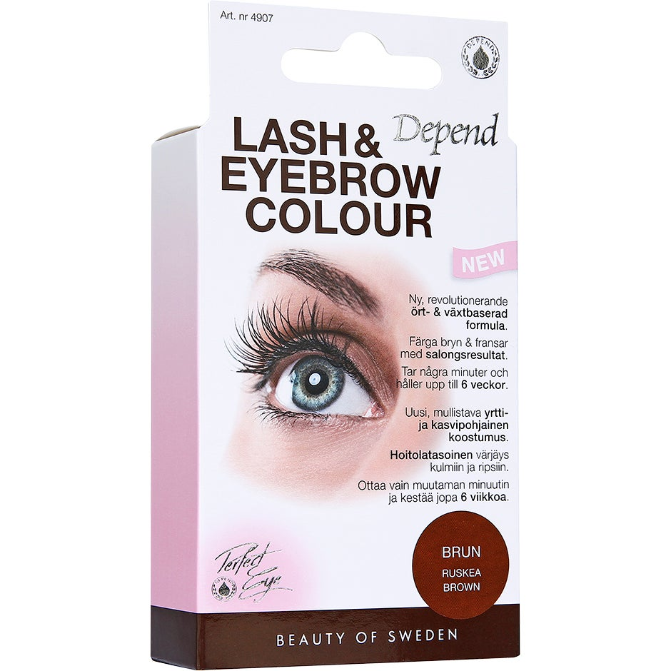 Lash & Eyebrow Colour, Depend Ögonbrynsfärg & Trimmers