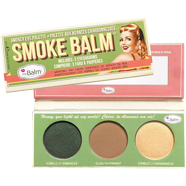the Balm Smoke Balm Smokey Eye Palette Set 2