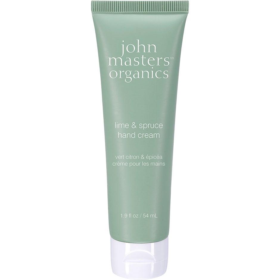 John Masters Organics Hand Cream Lime & Spruce, 54ml John Masters Organics Handkräm