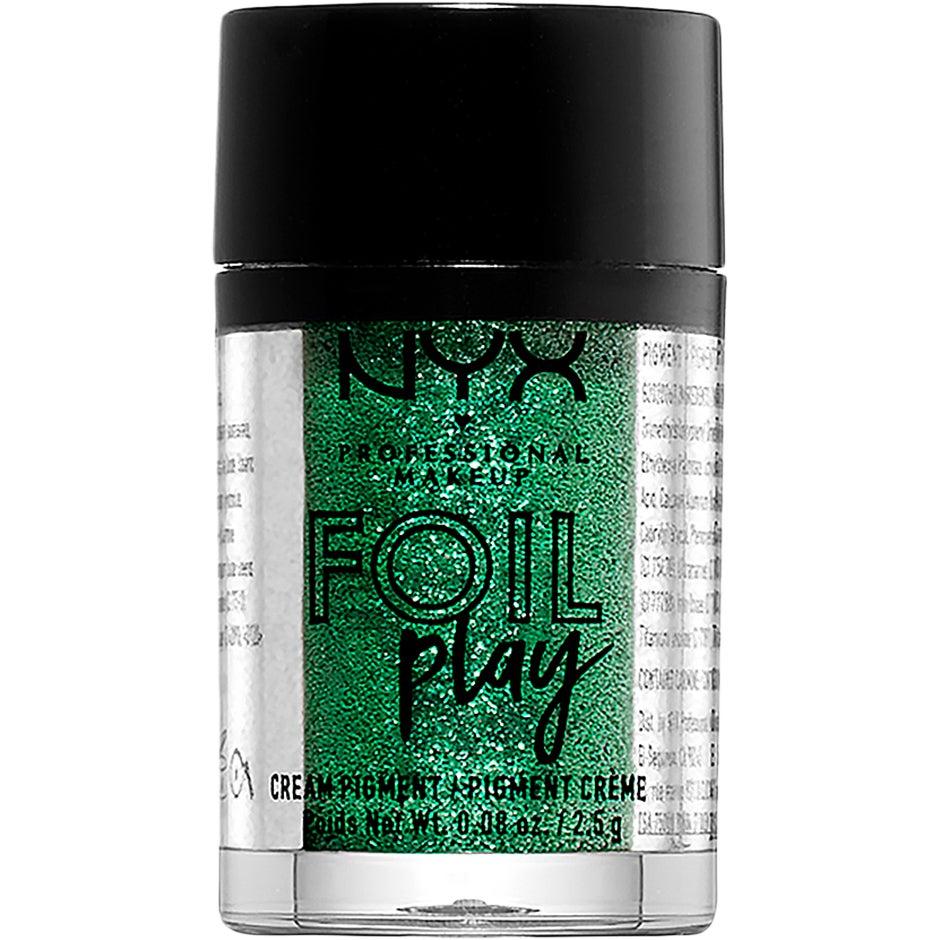 Foil Play Cream Pigment, Digital Glitch 2,5 g NYX Professional Makeup Ögonskugga