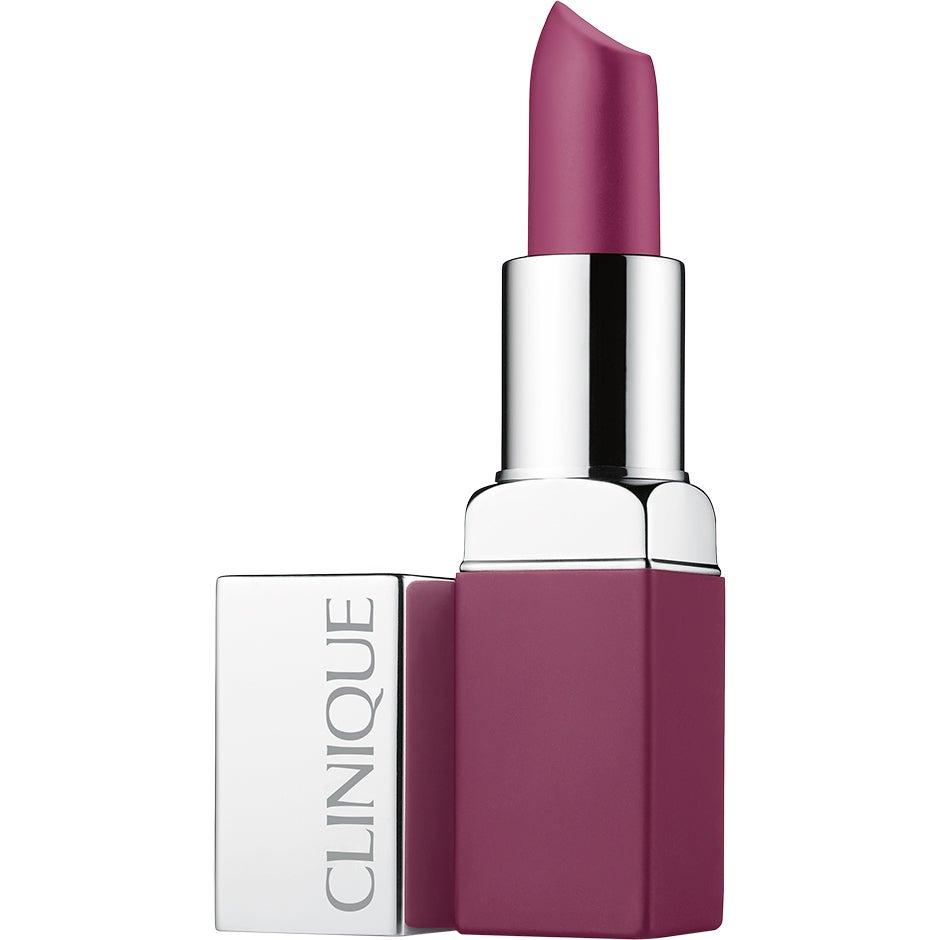 Köp Pop Matte Lip Colour + Primer, Pow Pop 3,4 g Clinique Läppstift fraktfritt