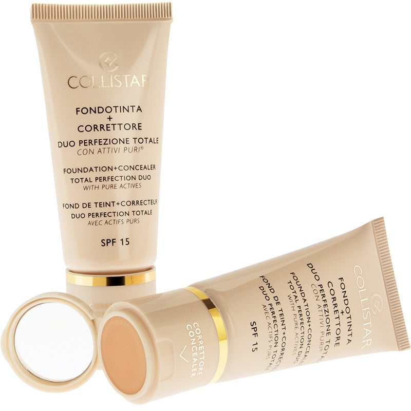 Collistar Foundation + Concealer Total Perfection Duo