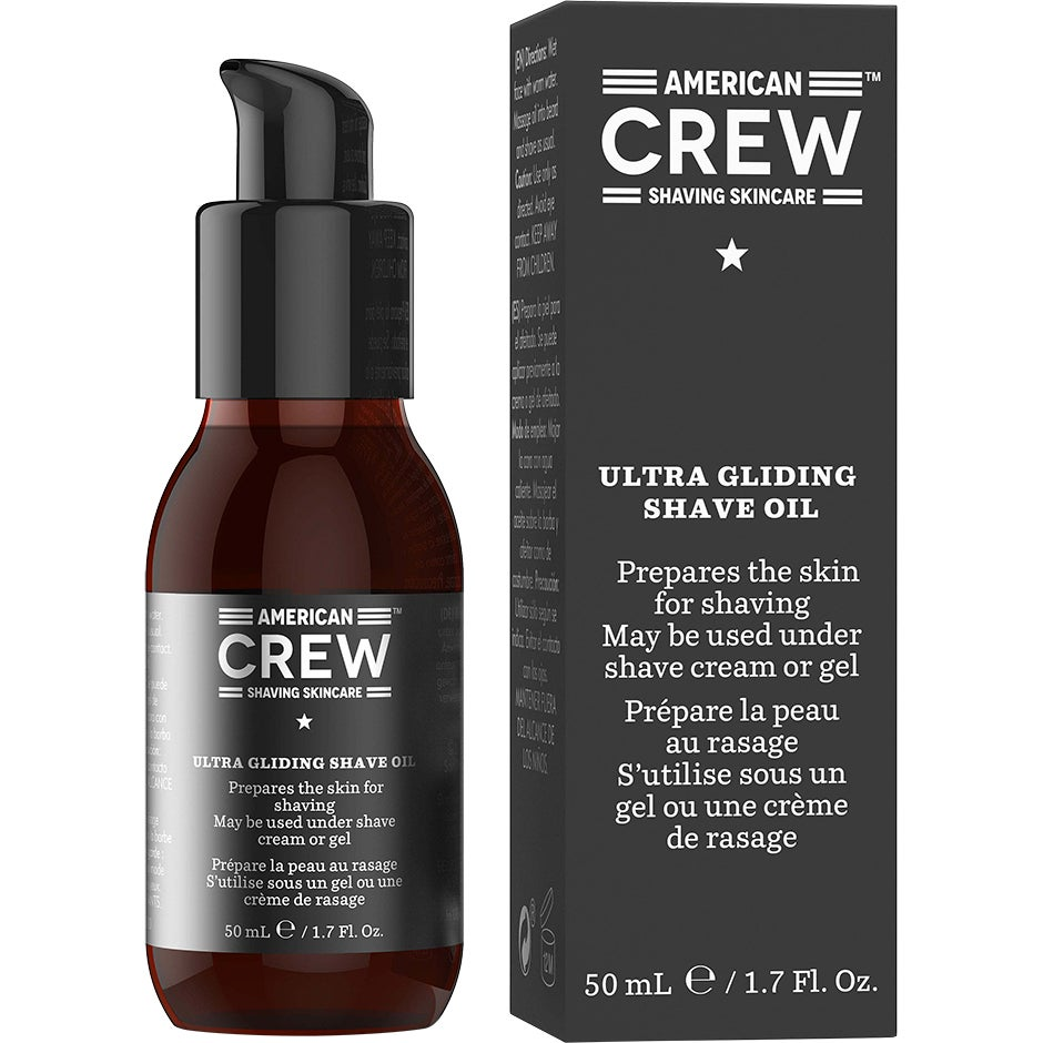 American Crew Ultra Gliding Shave Oil, 50 ml American Crew Rakgel