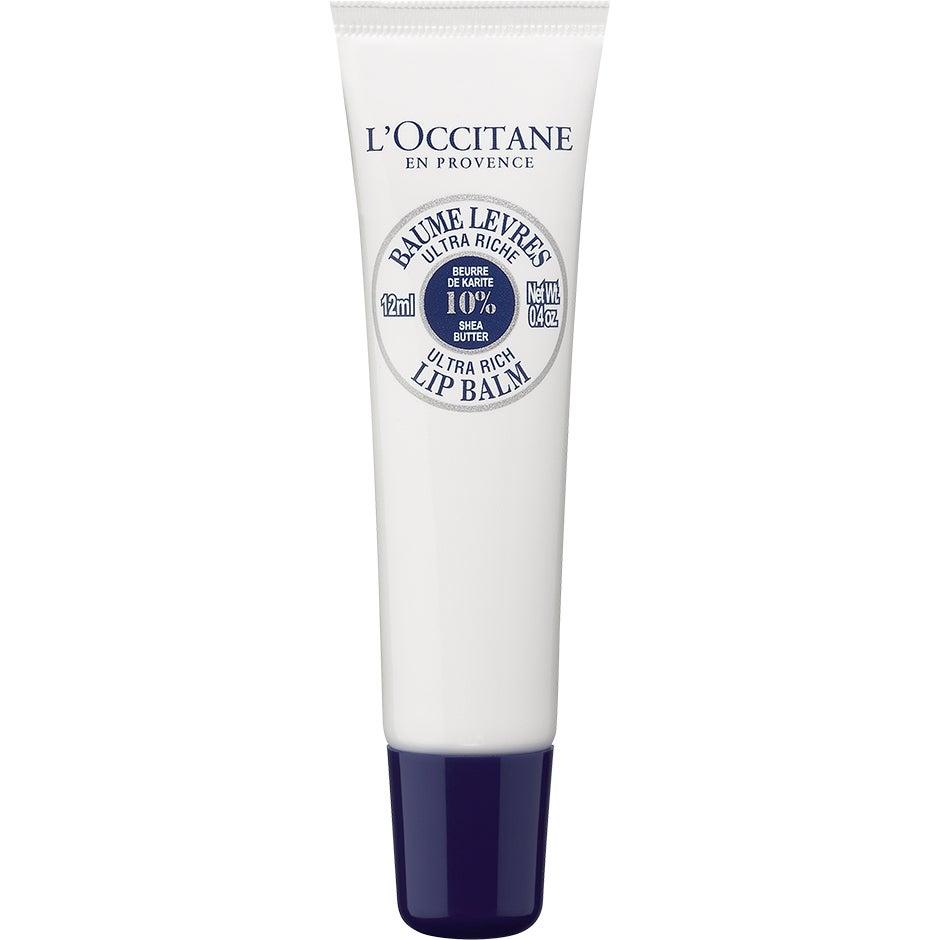 Köp Shea Butter, Ultra Rich Lip Balm 12 ml L'Occitane Läppbalsam fraktfritt